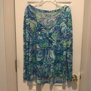 Oh shucks Lilly Pulitzer top